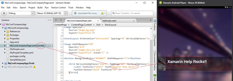 Visual Designer in Xamarin Forms - Xamarin Help