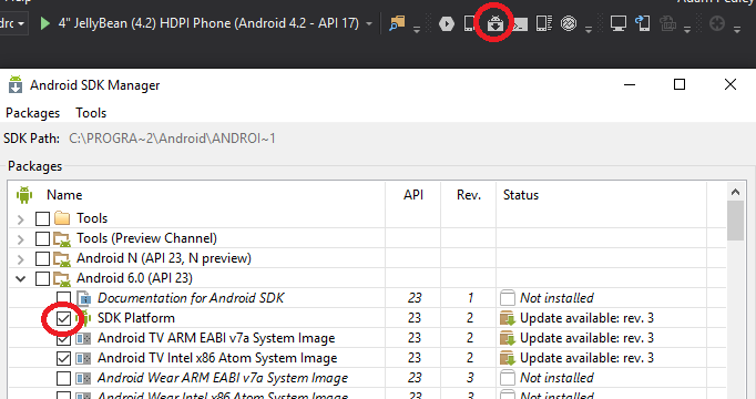 AndroidSDKVersion