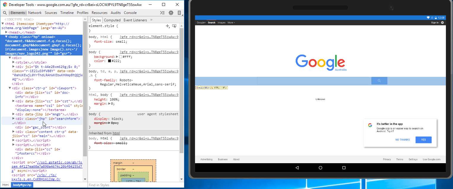 Xamarin Forms Debugging The WebView In Chrome - Xamarin Help