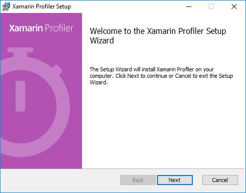 xamarin-profiler-setup