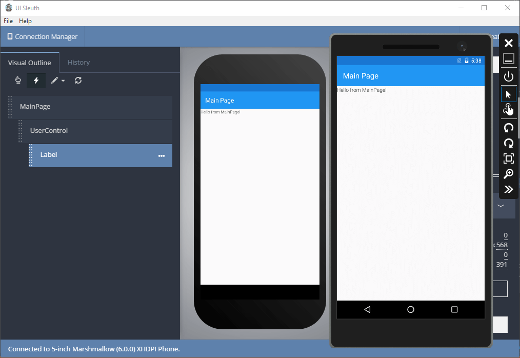 UISleuth - Visually Inspect Your Xamarin Forms Application