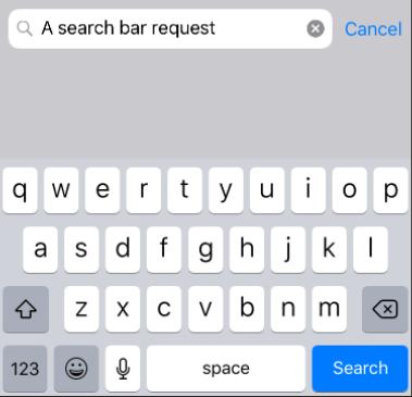 Xamarin Forms Search Bar - Xamarin Help