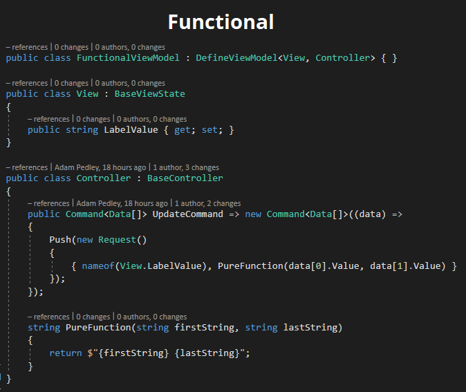 Functional ViewModels In Xamarin.Forms (Revision 2